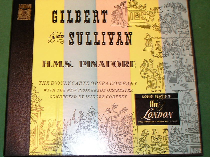 GILBERT & SULLIVAN  - H.M.S. PINAFORE  - 1949 LONDON ffrr MONO * NM  9/10 *
