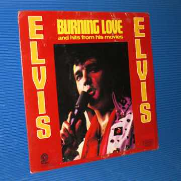 """ELVIS   - """"Burning Love and Hits from his Movies"""" -  Pi..."""