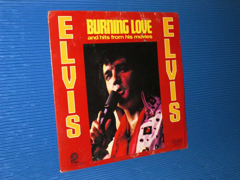 """ELVIS   - """"Burning Love and Hits from his Movies"""" -  Pickwick 1975 SEALED!"""