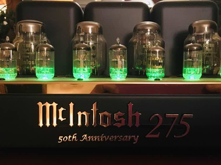 McIntosh MC275LE 50th anniversary limited gold edition- 1 owner OBM