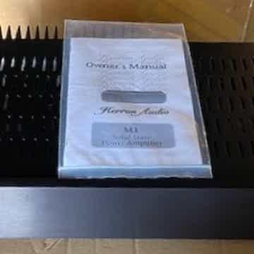 Herron Audio M1A Mono Blocks as new: