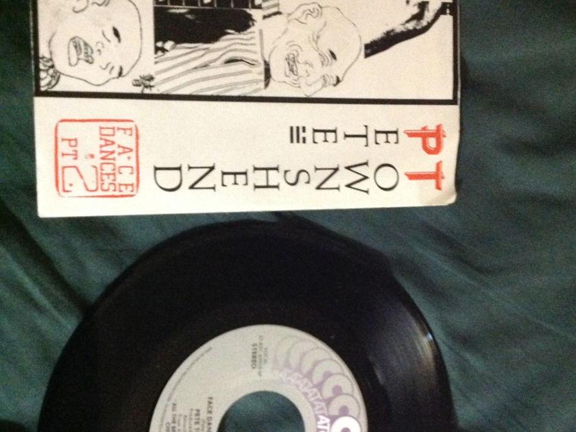 Pete Townshend - Face Dances Pt 2 45 With Sleeve