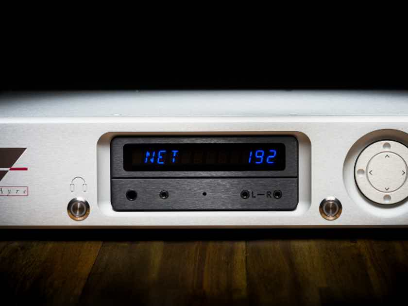 Ayre Acoustics QX-5 Twenty Streaming Dac / Pre Amp - Mint Factory Condition !