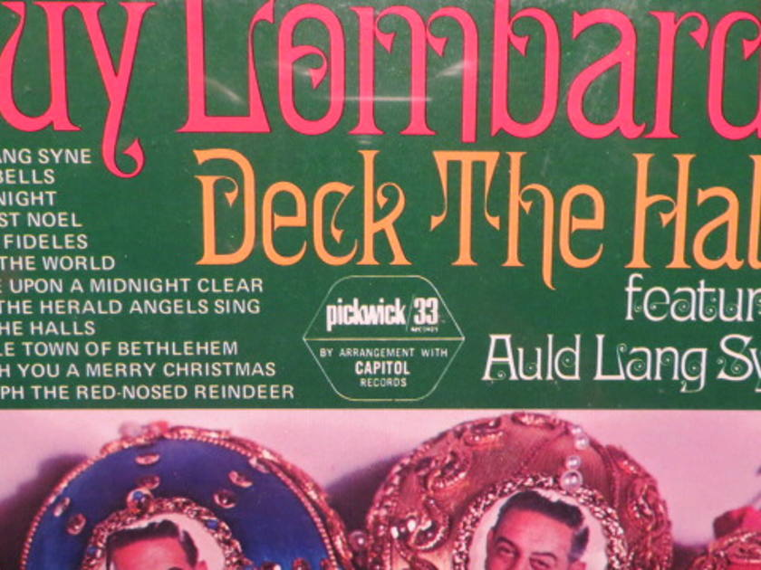 GUY LOMBARDY - DECK THE HALLS CHRISTMAS SEALED