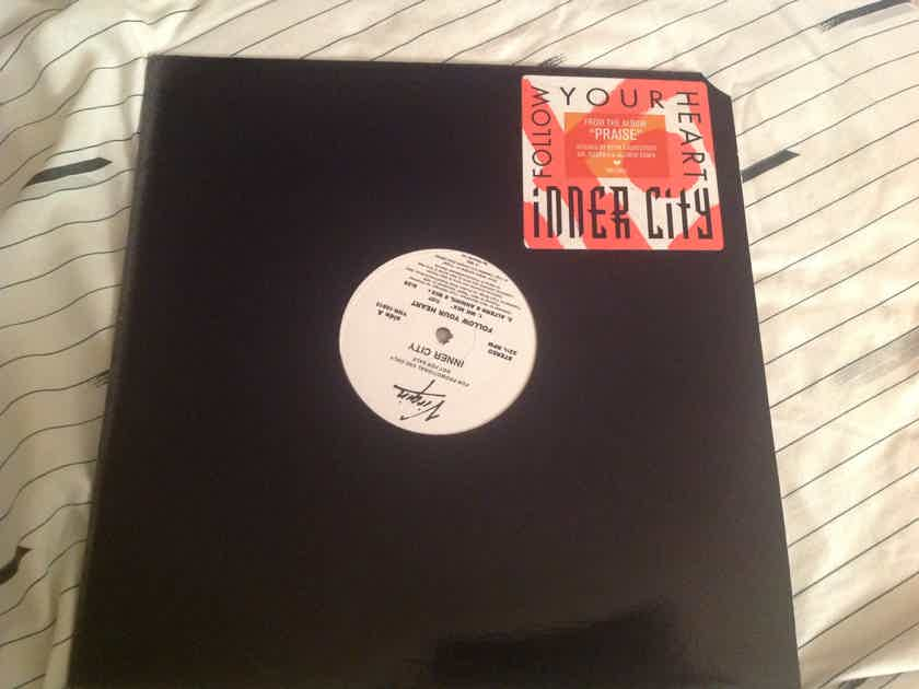 Inner City Follow Your Heart Virgin Records Promo 12 Inch 5 Versions