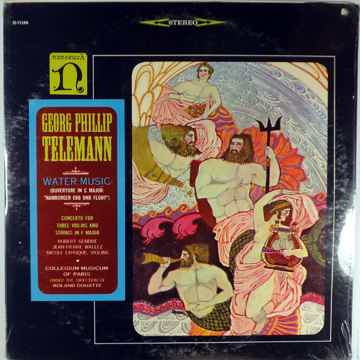 GEORG PHILLIP TELEMAN WATER MUSIC - SEALED NONESUCH LP
