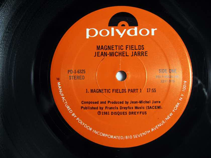 Jean-Michel Jarre - Magnetic Fields  - 1981 Polydor PD-1-6325