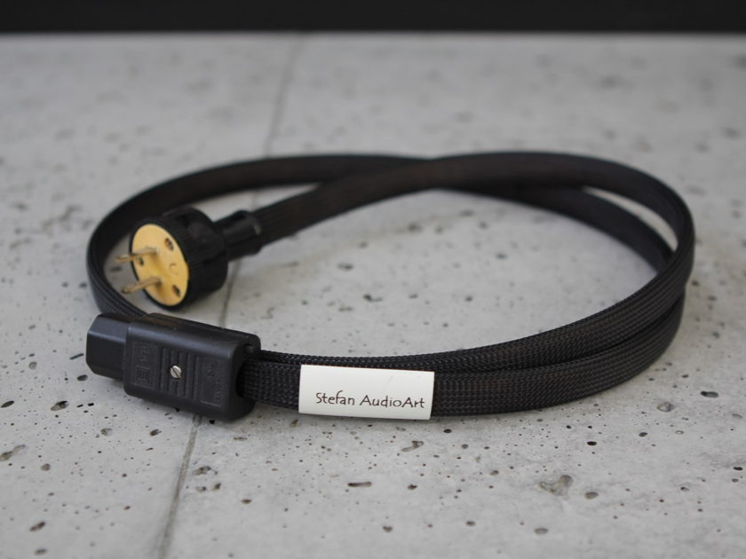 Pair of Stefan Audioart Endorphin Power Cables - 4 Feet in Length