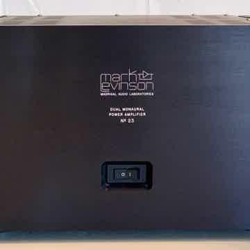 Mark Levinson  No 23 Power Amplifier