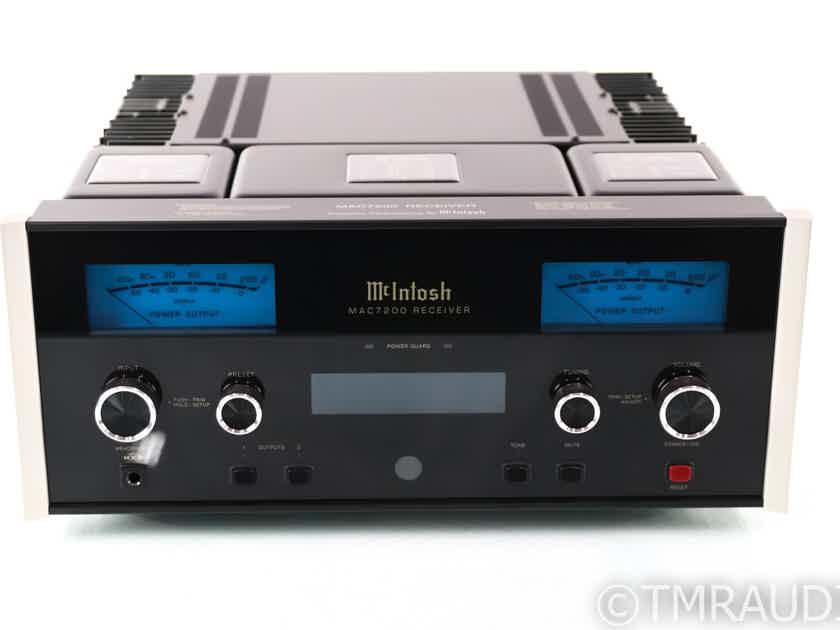 McIntosh MAC7200 Stereo AM / FM Receiver; MAC-7200; MM / MC Phono; DAC Module (29318)