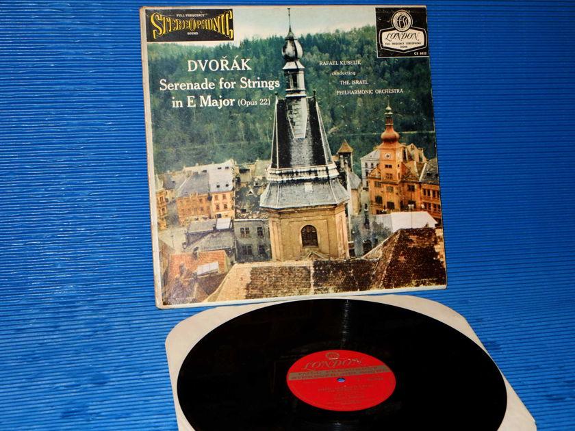 "DVORAK / Kubelik   - ""Serenade for Strings in E Major"" -  London 'Blue Back' 1958 Early Pressing"