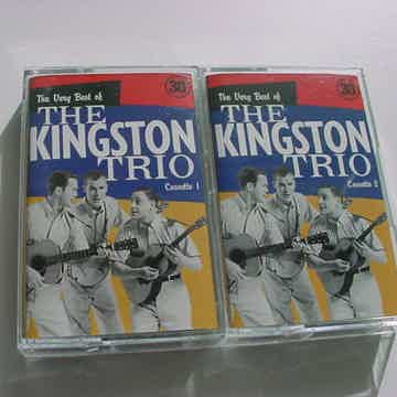 The Kingston Trio 2 cassette tapes very best of