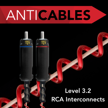 ANTICABLES Level 3.2 Reference RCA Analog Interconnects