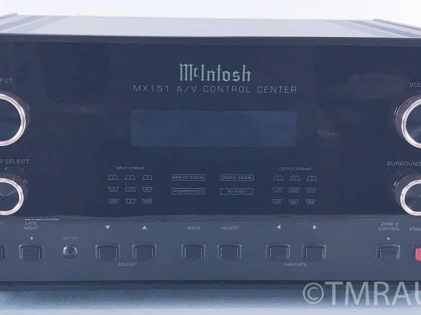 McIntosh  MX151  Preamplifier / Surround Processor; MX-151 (10231)