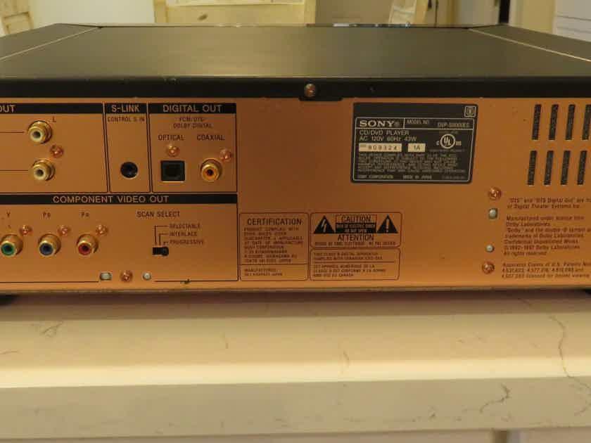 Sony DVP S9000ES CD/SACD/DVD Player. PRICE SLASHED