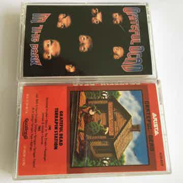 2 audio cassette tapes In the dark & Terrapin Station