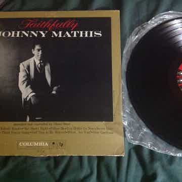 Johnny Mathis - Faithfully Columbia Records Six Eye MON...