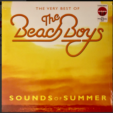 The Beach Boys Sounds of Summer - 2lp on Orange Vinyl L...