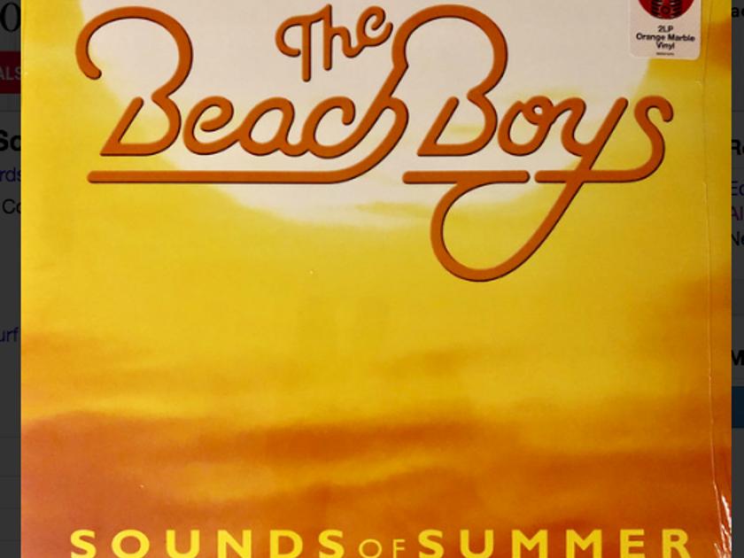 The Beach Boys Sounds of Summer - 2lp on Orange Vinyl Ltd Edition