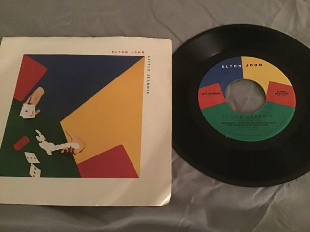 Elton John 45 With Picture Sleeve Vinyl NM