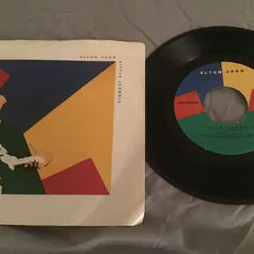 Elton John 45 With Picture Sleeve Vinyl NM  Little Jean...
