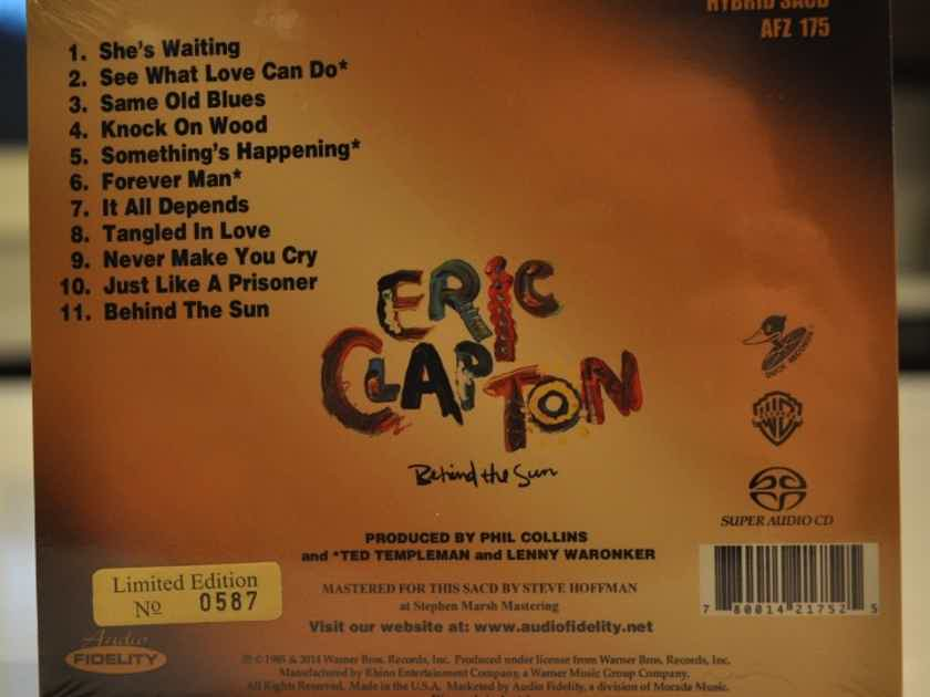 Eric Clapton Behind the Sun