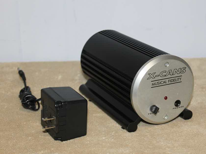 Musical Fidelity X-Cans All tube Headphone Amplifier