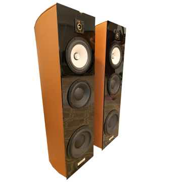 "Bache Audio 002  "" 4 way floorstander, active bass mod..."