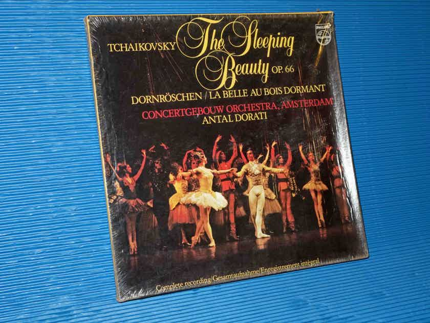 "TCHAIKOVSKY / Dorati  - ""The Sleeping Beauty"" Complete -  Philips 1981 (3 LP ?) Box Set SEALED!"