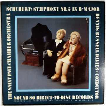 SCHUBERT SYMPHONY NO. 5 IN Bb Major SOUND 80 DIRECT TO ...