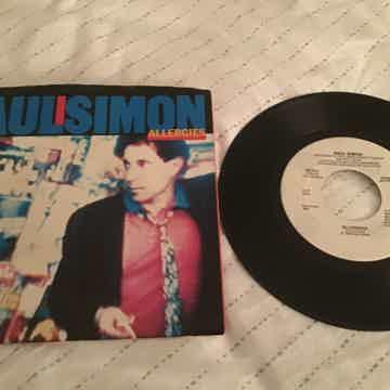 Paul Simon Allergies Promo Mono/Stereo 45 With Picture ...