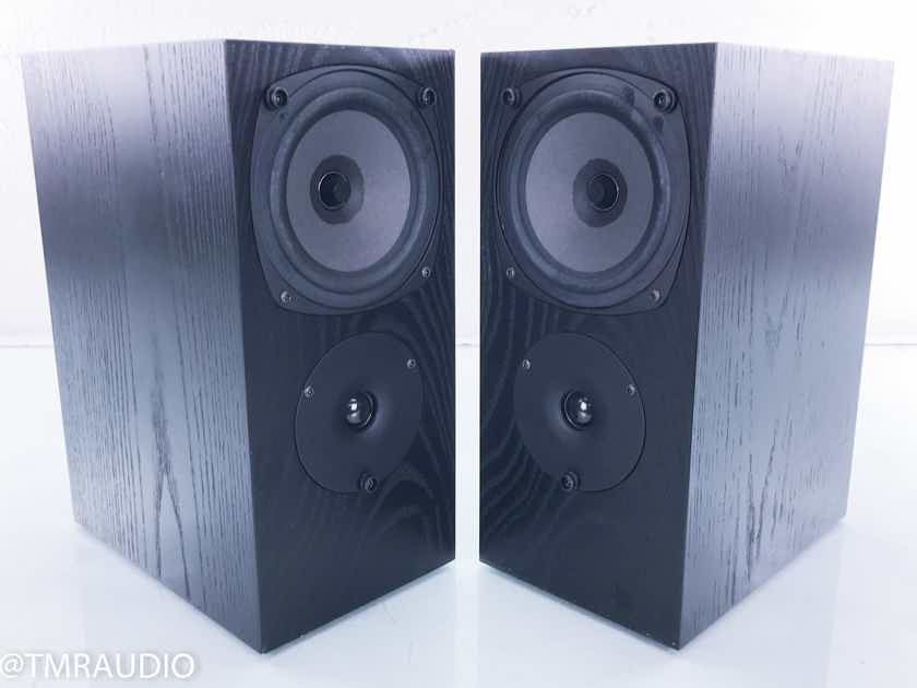 Rega RS1 Bookshelf Speakers Black Ash Pair; RS-1 (15511)