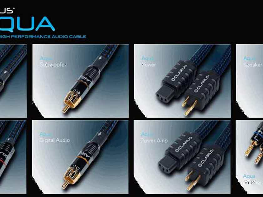 Clarus Audiophile Collection Best Value Cables ***SAVING***