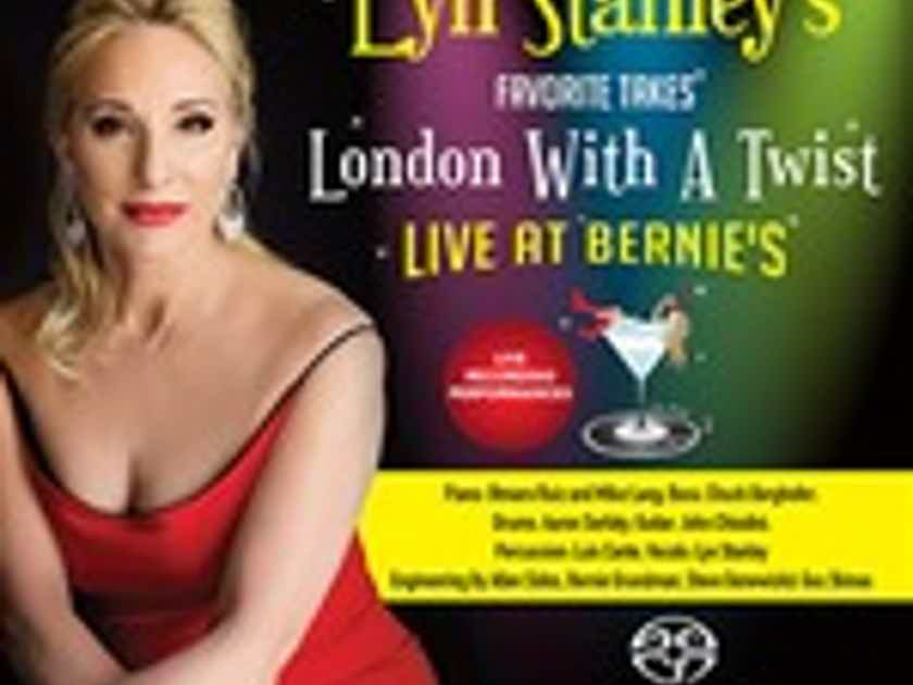 Lyn Stanley-London With A Twist- Live At Bernie's Hybrid Stereo SACD