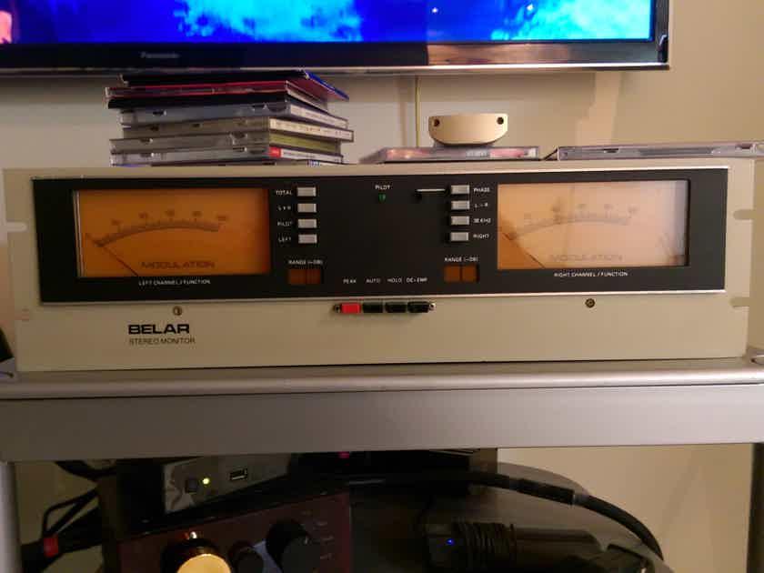 Telefunken 3156 EBU RADIO -Tumer with Belar FMS-2 STEREO DECODER!