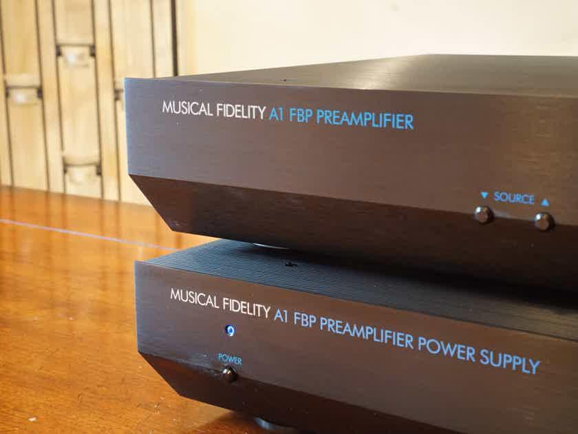 Musical Fidelity A1 FBP Preamplifier