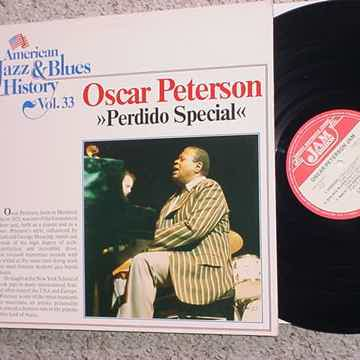 Oscar Peterson Perdido Special lp record  jazz and blues history vol. 33 Hamburg