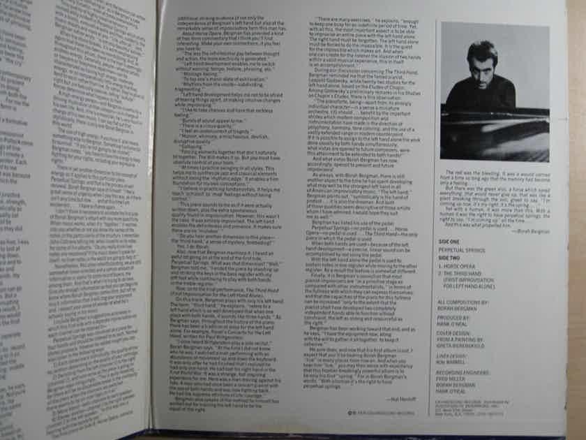Borah Bergman - Discovery  - 1975 Chiaroscuro Records CR-125