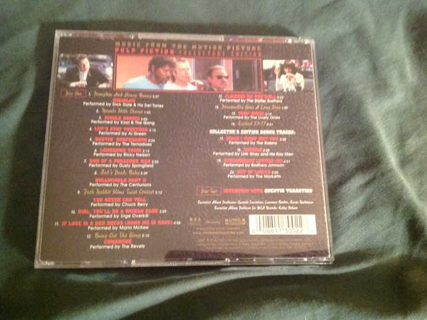 Various  Soundtrack Pulp Fiction Collectors Edition 2 CD Set