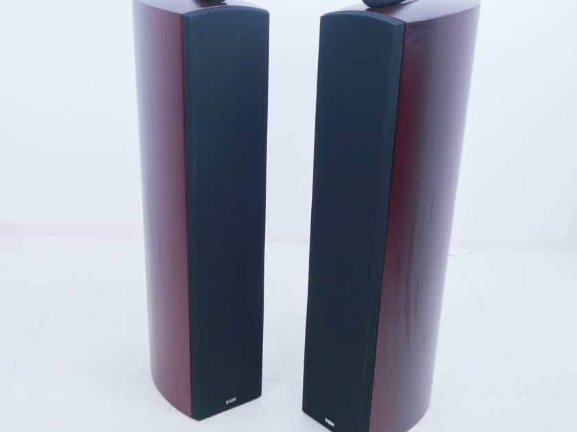 B&W Nautilus 804 Floorstanding Speakers; Red Cherry Pair (11878)