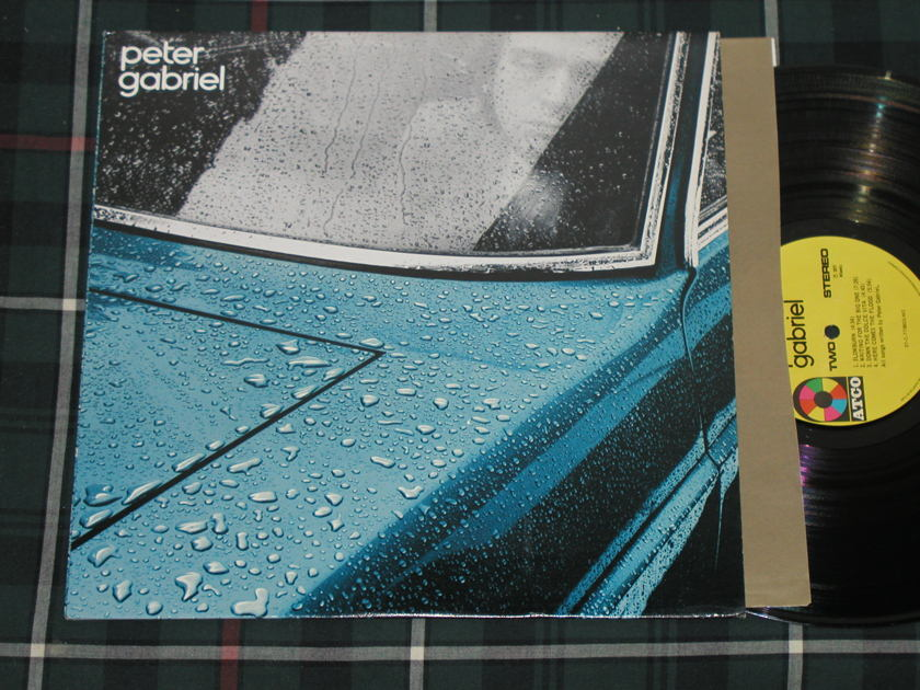 Peter Gabriel  - (Raindrops)Peter Gabriel (1st ) Pressing  ATCO SD 36-147 from 1977
