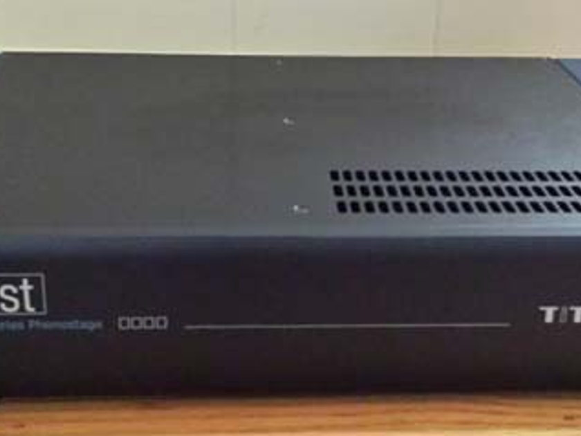 Whest Audio TITAN Phono Preamp, Dealer Personal Use,  Save $4,700!