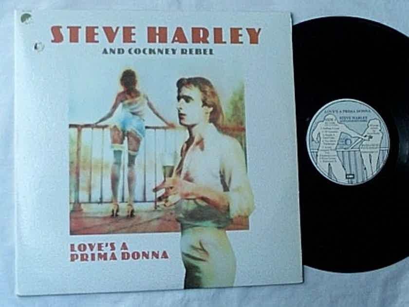 STEVE HARLEY & COCKNEY REBEL LP~ - Love's a prima donna~orig 1976 psych pop rock album on EMI Records