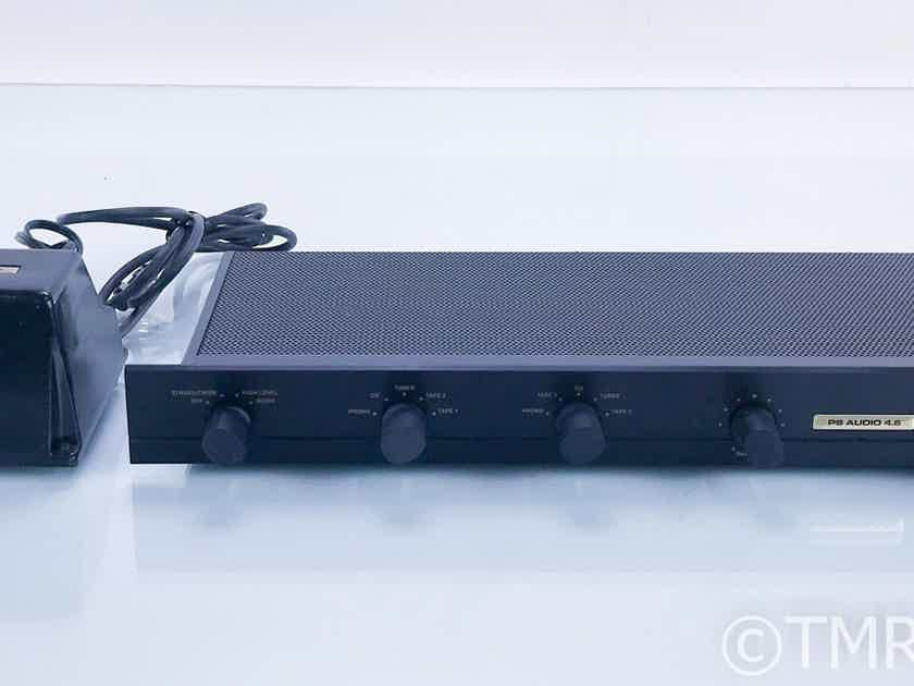 PS Audio 4.6 Vintage Stereo Preamplifier w/ Power Supply; MM/MC Phono (16730)