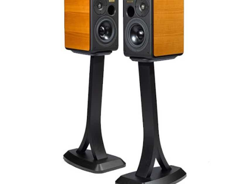 Opera Classica Prima Speaker Stands; Black Pair (New) (28999)