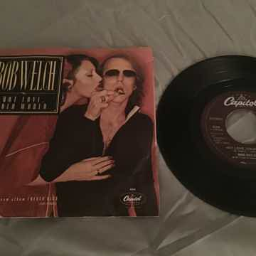 Bob Welch Hot Love,Cold World/Danchiva With Picture Sleeve