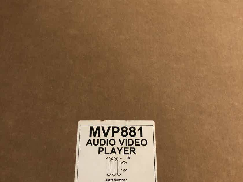 McIntosh MVP-881 BR Player, new remote control with orig box