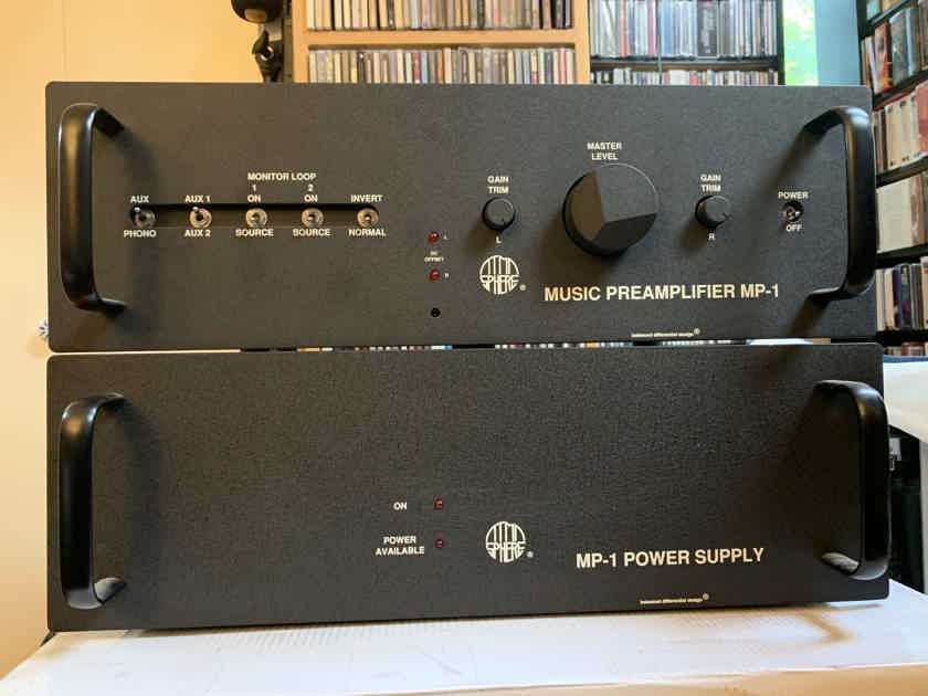 Atma-Sphere MP-1 Mk3.1 tube preamplifier with phono, remote and options