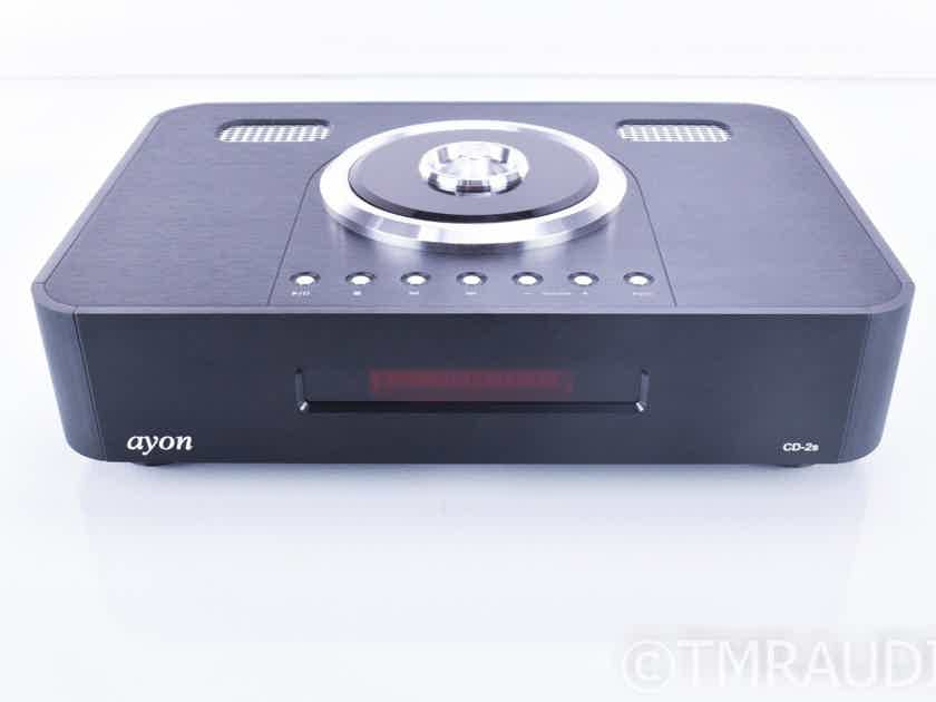 Ayon CD-2s Tube CD Player / Transport; D/A Converter; Remote; CD2s (18537)