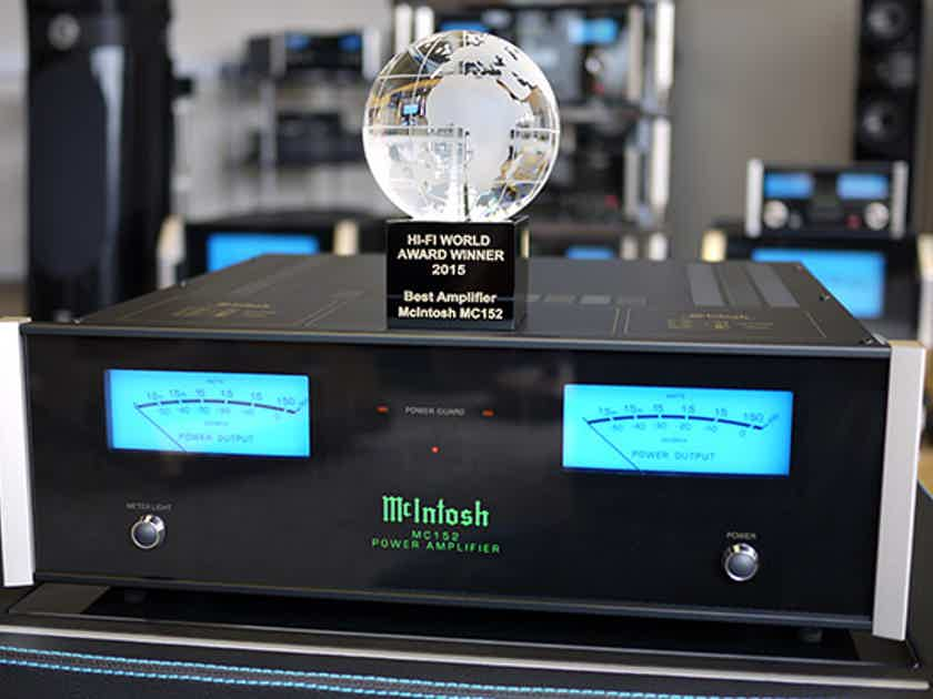 McIntosh MC152 power amplifier, tip-top condition